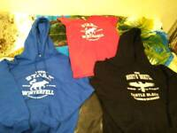 2 hoodies and shirt of game of thrones