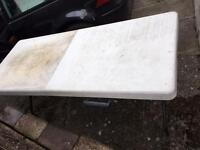 Used trestle tables car boot sales