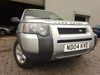 04 LAND ROVER FREELANDER 1.8,MOT MARCH 017,PART SERVICE HISTORY,2 KEYS,VERY RELIABLE FAMILY 4X4