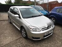 2006 TOYOTA COROLLA 1.6 VVT-I COLOUR COLLECTION PETROL MANUAL ONLY 1 OWNER FROM NEW MOT AUGUST 2017