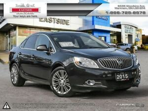 2015 Buick Verano Leather Package, 1 OWNER