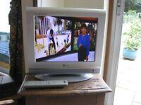 TV (15 inch) LG Flatron with Sony digi box