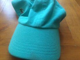 Lacoste Baseball Cap, One Size adjustable with Crocodile Logo - Curved Beaker