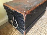 Vintage tool trunk
