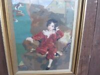 Tapestry Portrait of Master Charles William Lambton 'The Red Boy' (1818- 1831) £10