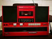 Retro hi fi ghetto blaster panasonic