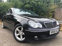 Mercedes C180 Automatic Full Years Mot Low Mileage Half Leather Good Condition Drives Great !!!
