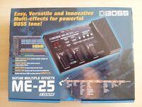 BOSS ME-25 GUITAR MULTIPLE EFFECTS PEDAL UNIT