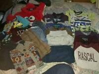 Large bundle of boys 4-5 clothing