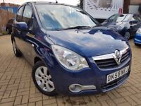 2008 Vauxhall Agila 1.2 DESIGN 16v 5dr 35933 WARRENTED LOW MILEAGE: IDEAL FIRST CAR
