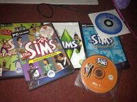 Bundle of sims games for PC