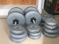 York Barbell free weights