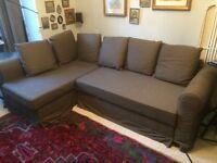 IKEA Brown Sofa Bed