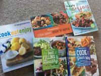 Weight watcher cook books
