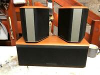 Mordaunt Short home cinema speaker set