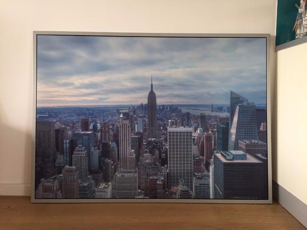 Large New York City canvas