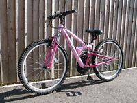 Girl's Apollo FS24 Mountain Bike