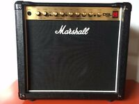 "Marshall DSL15C 1x12"" Valve Amp + Footswitch + Cover"