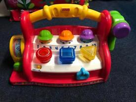 Fischer price light up and sounds toy clean and working rrp £50
