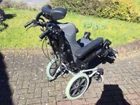 Invacare Rea-Assist enhanced comfort reclining passive wheelchair