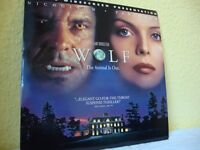 Wolf. NTSC laserdisc. Deluxe widescreen edition.