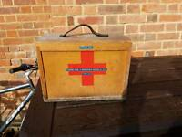 Vintage collectors first aid box