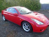 TOYOTA CELICA 1.8 VVTI THREE DOOR COUPE EXCELLENT CONDITION.