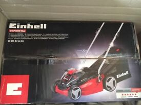 Petrol cordless lawnmower for sale brand new in box