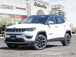 2018 Jeep Compass LIMITED | NAV | HEATED SEATS | BACK UP CAM |