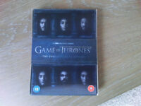 Game of Thrones Season 6 DVD, Excellent Condition