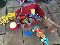 Dvd's , toys, hula hoop and baby's swimming pool