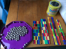 244 Magnetic Sticks and Balls - Great value educational toy!