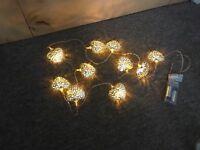 Fairy lights - vintage theme wedding decoration