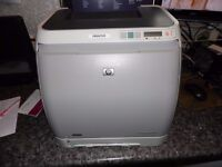 HP Laserjet 2600n colour laser printer