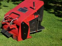Countax Rear Sweeper Collector With Roller In Good Working Order