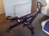 Cross Trainer, exercise bike, Weight loos proof! Power rider