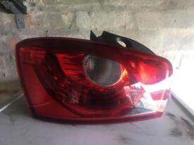 SEAT IBIZA 2014 COMPLETE BACK END Tailgate bumper lights