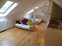 Attic Style Studio Apartment Close to Cambridge Train Station Available