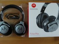 Motorola Pulse Max Headphones - Black