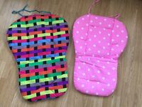 Baby pram buggy liners brand new £3.00 each