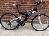 Raleigh Mission Mountain Bike, Dual suspension Bicycle, Cycle, Unisex, Men's/ women's Bike.