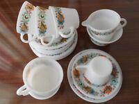 Genuine 1960s 20 Piece Tea Service
