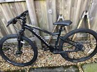 Jynx specialised mountain bike- hardly used