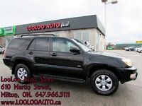 2003 Toyota 4Runner SR5 V6 4X4 Automatic Certified 2 Year Warran