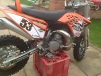 Ktm 50cc sx not honda cr Suzuki rm Yamaha yz
