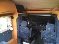 Mercedes CI Cipro 4birth motorhome with huge garage