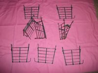 Multiple Many Single One Rabbit Bunny Guinea Pig Small Hay Rack Manger Second Hand Cheap