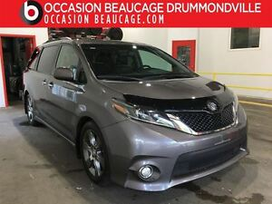2015 Toyota Sienna SE - 8 PASSAGERS - NAVIGATION + TOIT + CUIR!!