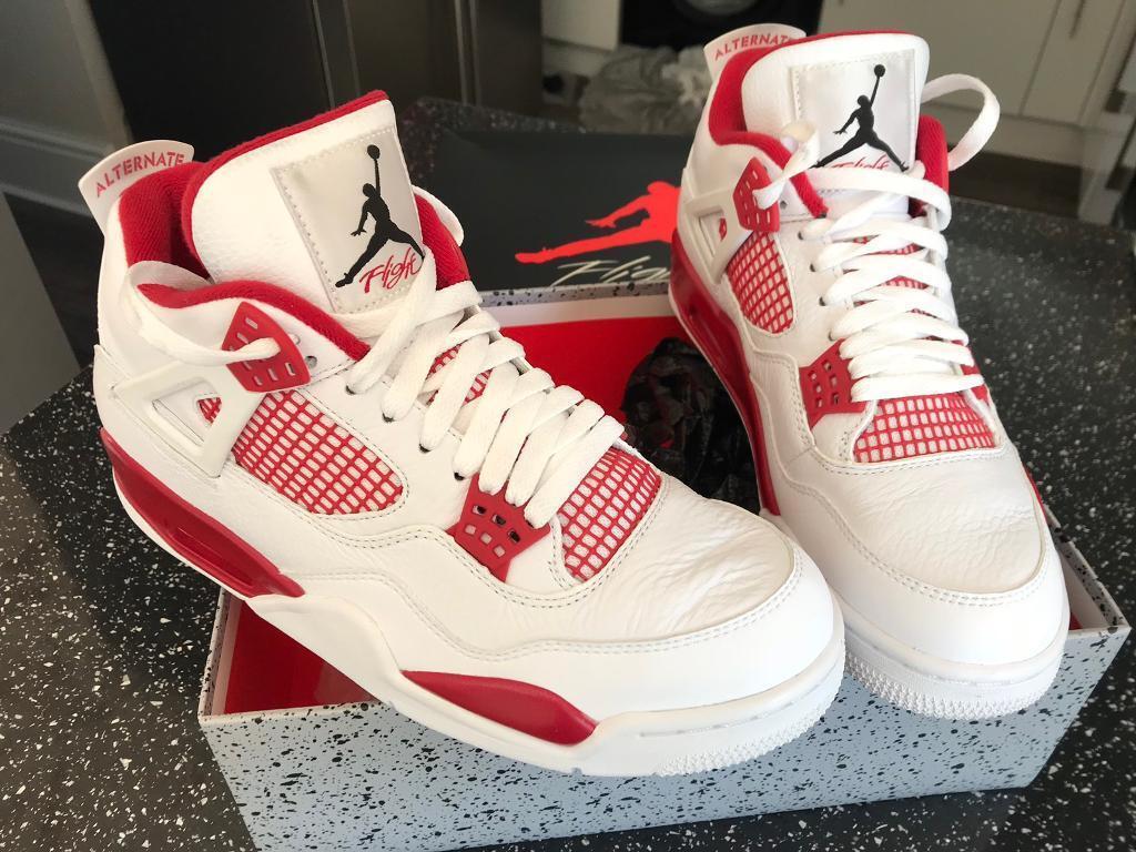 "000924645e4e0 Nike Air Jordan 4 ""alternate 89"" uk 8.5"