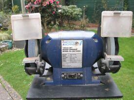 Workshop 2-wheel grinder on stand